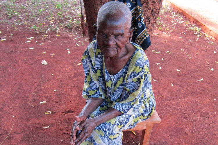 Resident at St. Mary Village, Sagana
