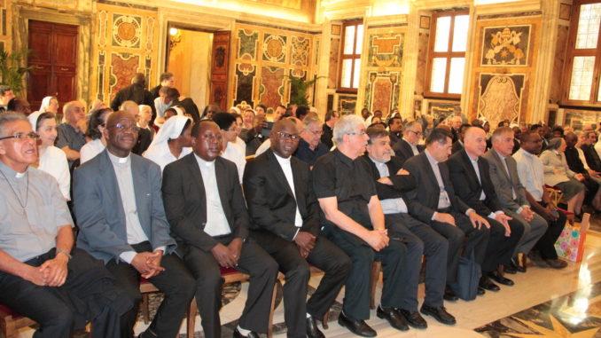 In atetsa dell'Udienza con papa Francesco