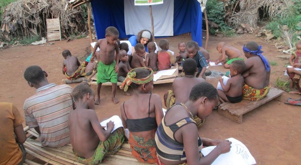 DRCongo: Solar Panels at Bayenga